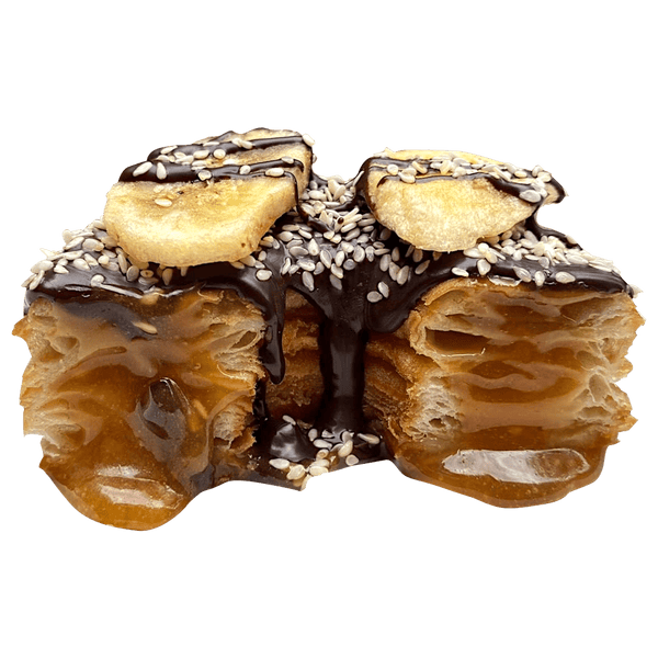 Crossnuts Sesame-Caramel Banana Cross (vegan)