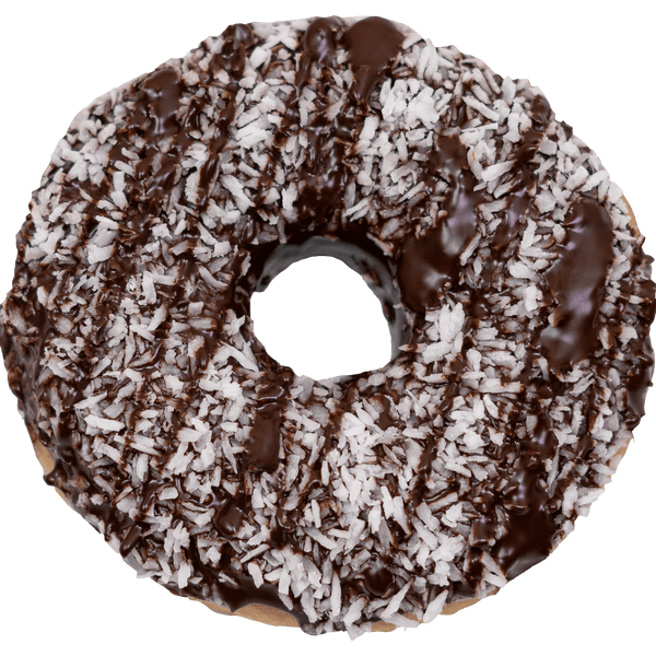 Ungefüllte Royal Donuts Coco Black