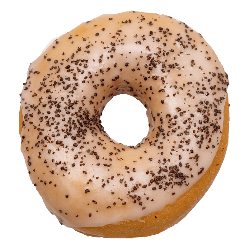 Vegane Royal Donuts Poppy Sugar