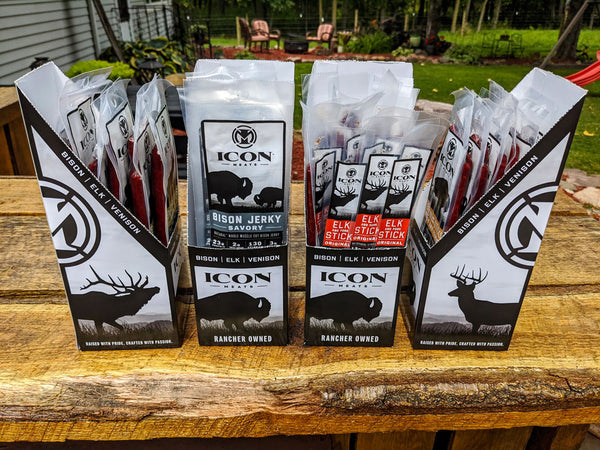 Icon Meats Bison Stick (1 OZ)