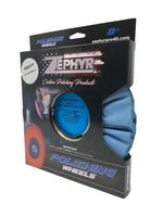 Zephyr Blue Baron Heavy Cut Clear Dip Airway 8""