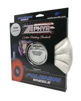"Zephyr White Domet Flannel Airway Finish Buff 8"" Signature Series"