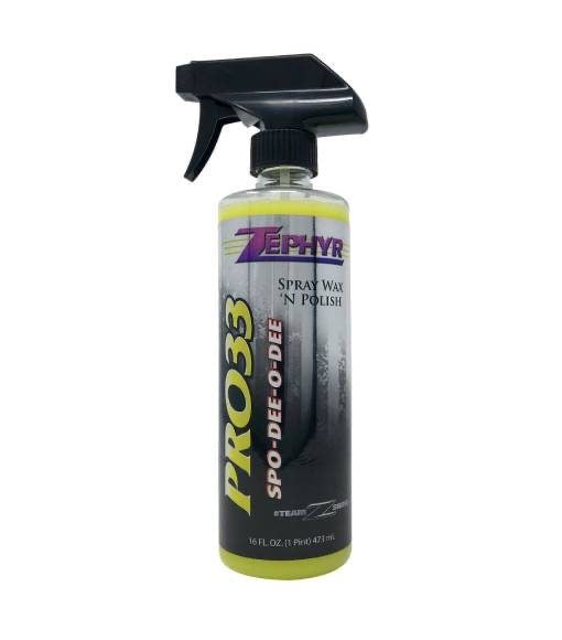 Zephyr Spo-Dee-O-Dee Spray Wax 'n Polish 16 oz