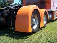 Talladega Fiberglass Gangsta Style Double Hump Super Single