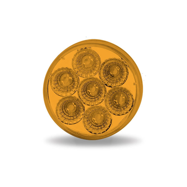 "TRUX 2"" AMBER MARKER ROUND LED LIGHT"