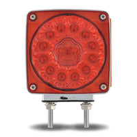 TRUX SUPER DIODE SQUARE DOUBLE FACE LED LIGHT- 38 DIODE