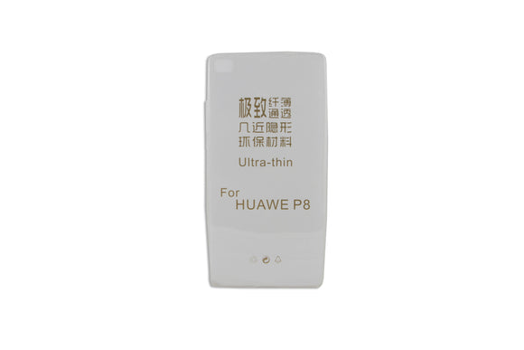 Husa silicon,  Huawei  Ascend  P8,  slim  0.3mm, Transparent