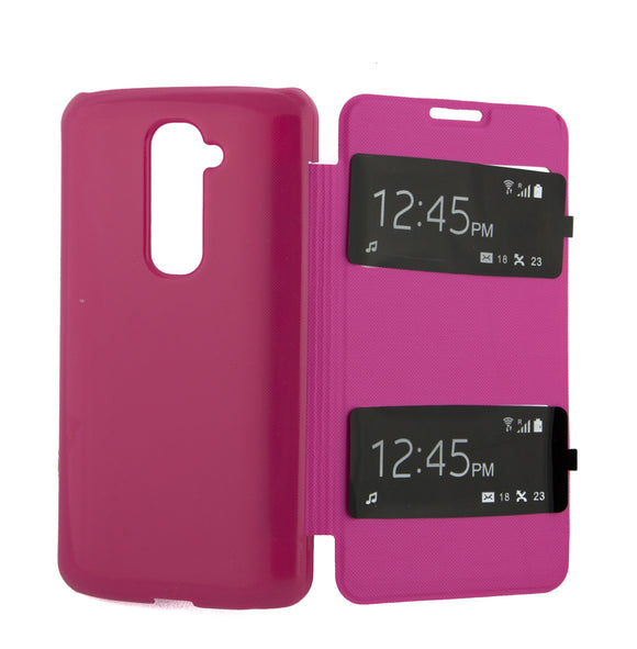 Flip Cover, LG Optimus G2, S View, Roz
