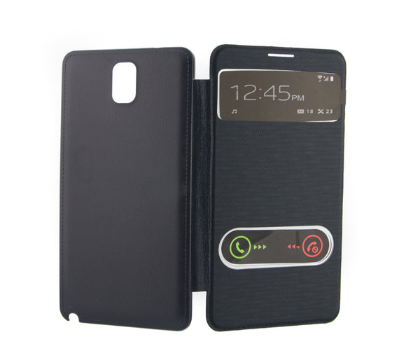Flip Cover, Samsung Galaxy Note 3, S View, Albastru