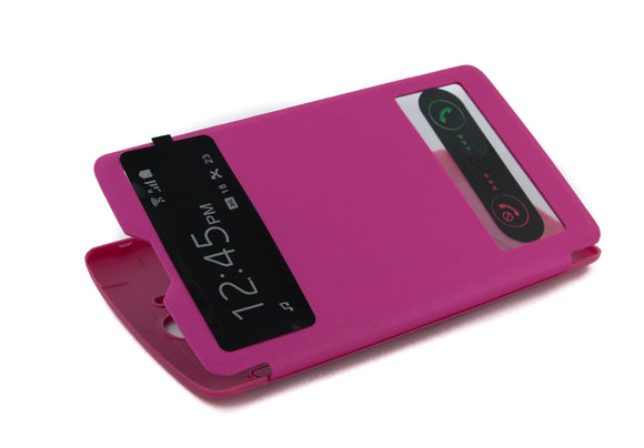 Flip Cover,  LG  Optimus G3  S View, Roz