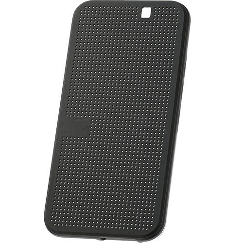 Husa HTC One M9, plastic, Dot View, gri
