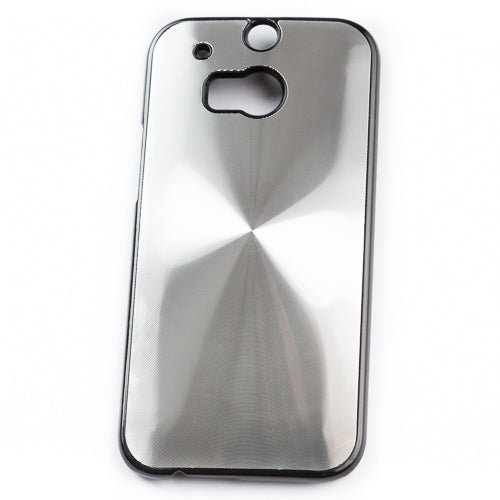 Husa HTC One M8 Metal Disc, Silver