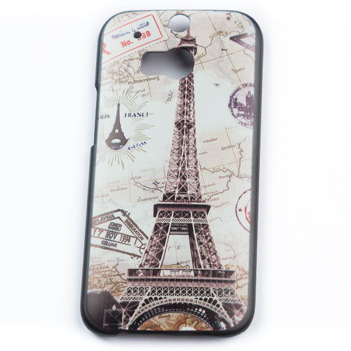 Husa HTC One M8 Back To France Plastic