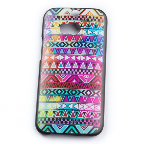 Husa HTC One M8 Hippie Colors Plastic, Multicolor