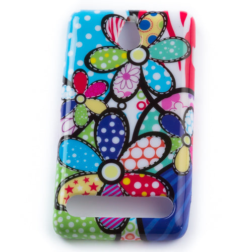 Husa Sony Xperia E1 Summer Dream,  Silicon, Multicolor
