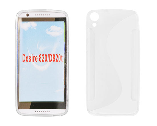Husa HTC Desire 820, S Line, silicon transparent