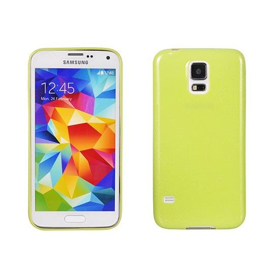 Husa Samsung Galaxy Note 5 N920 Silicon ultra slim Candy, lime