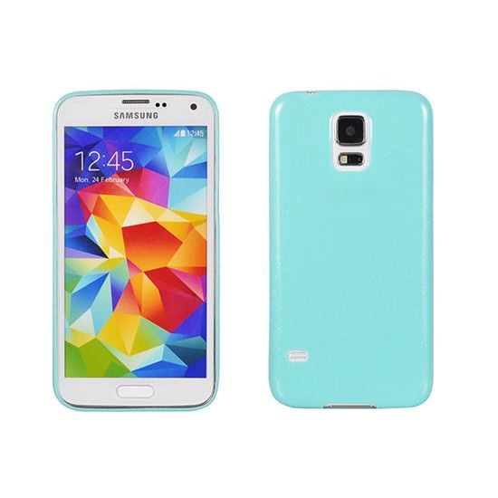 Husa Samsung Galaxy Core 2 G355H, silicon, ultra slim, Candy , mint