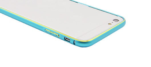 Bumper metalic , Iphone 6 Plus , bleu