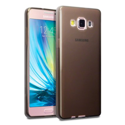 Husa Samsung Galaxy Grand Prime G530, silicon, ultra slim, fumuriu