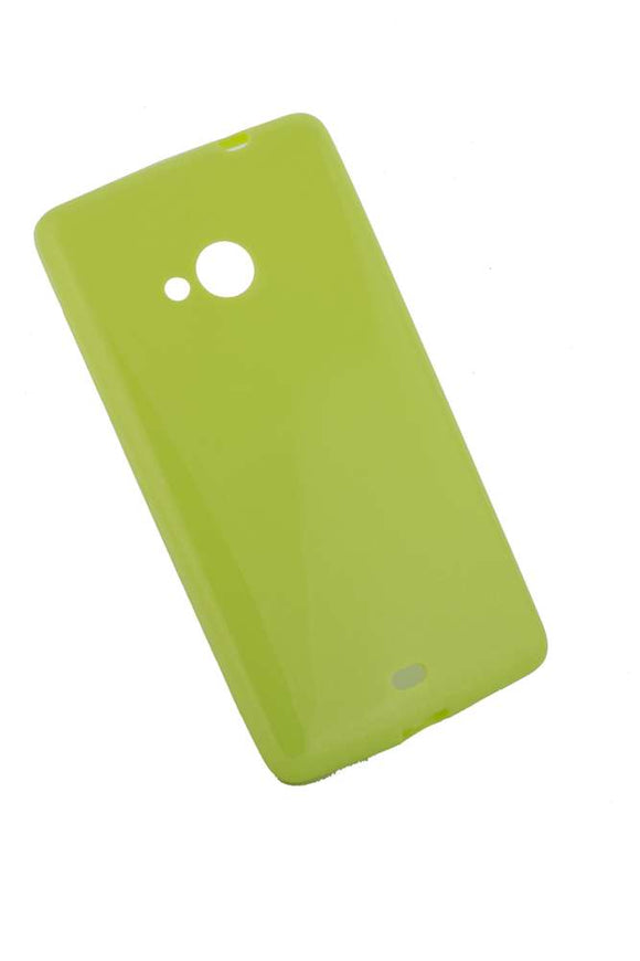 Husa Microsoft Lumia 540 , silicon, ultra slim, Candy , lime