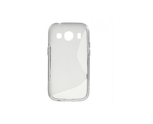Husa Samsung Galaxy Ace Style G310, S Line, Silicon, transparent