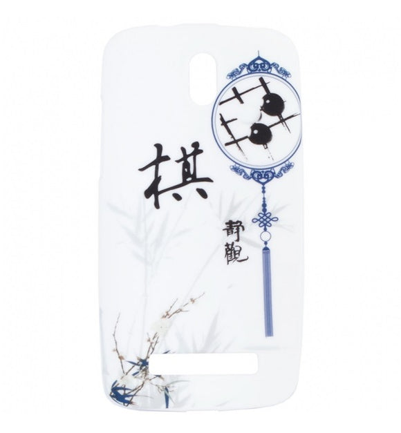 Husa Samsung Galaxy Trend Lite S7390 , dream catcher , silicon, alb