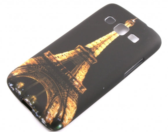 Husa Samsung Galaxy Express 2 G3815 , Eiffel Tower , silicon, negru