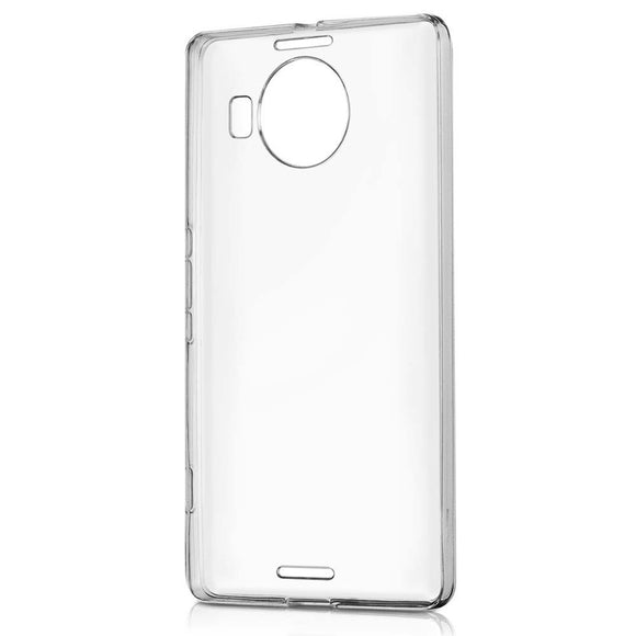Husa Microsoft Lumia 950, ultra slim, silicon, transparent