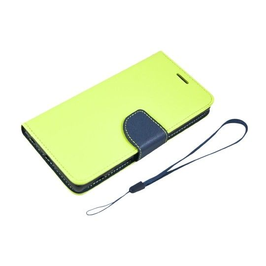 Husa Samsung Galaxy Note 8, piele eco, Fancy, lime