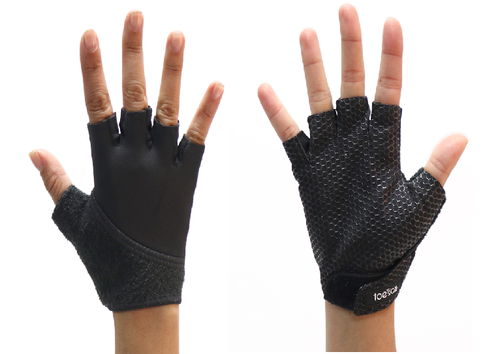 Toe Sox- Black Grip Gloves