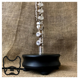 Silver Flute Table Lamp