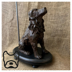 Water Spaniels Table Lamp Pair