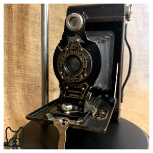 Vintage Kodak Brownie Camera Table Lamp