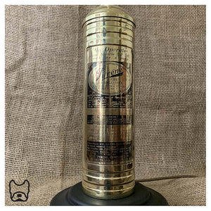 1964 Vintage Brass Fire Extinguisher Lamp