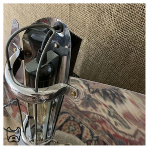 Art Deco Yacht Fire Table Lamp