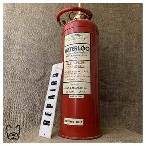 1968 Waterloo Extinguisher Lamp