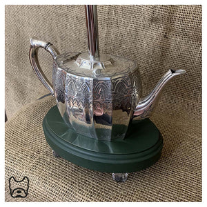 Vintage Teapot Table Lamp