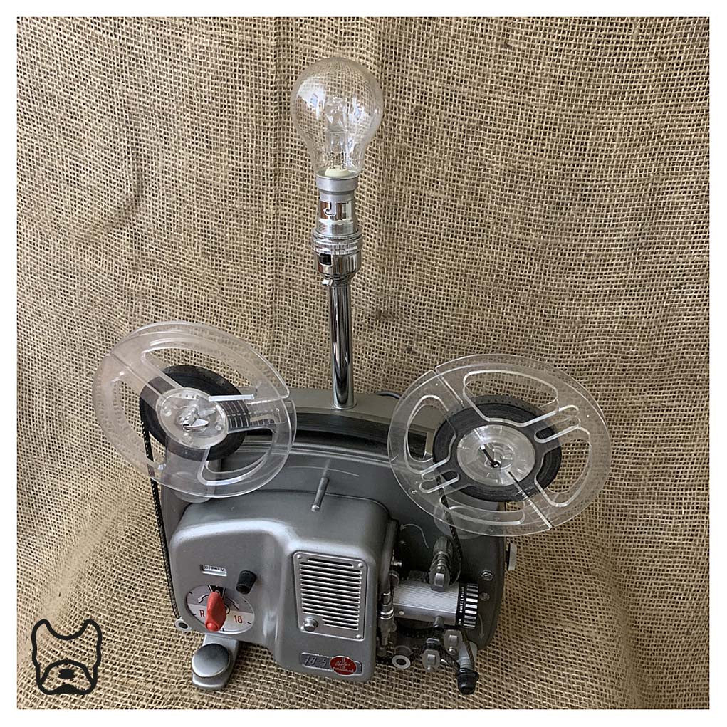 Bolex Projector Table Lamp
