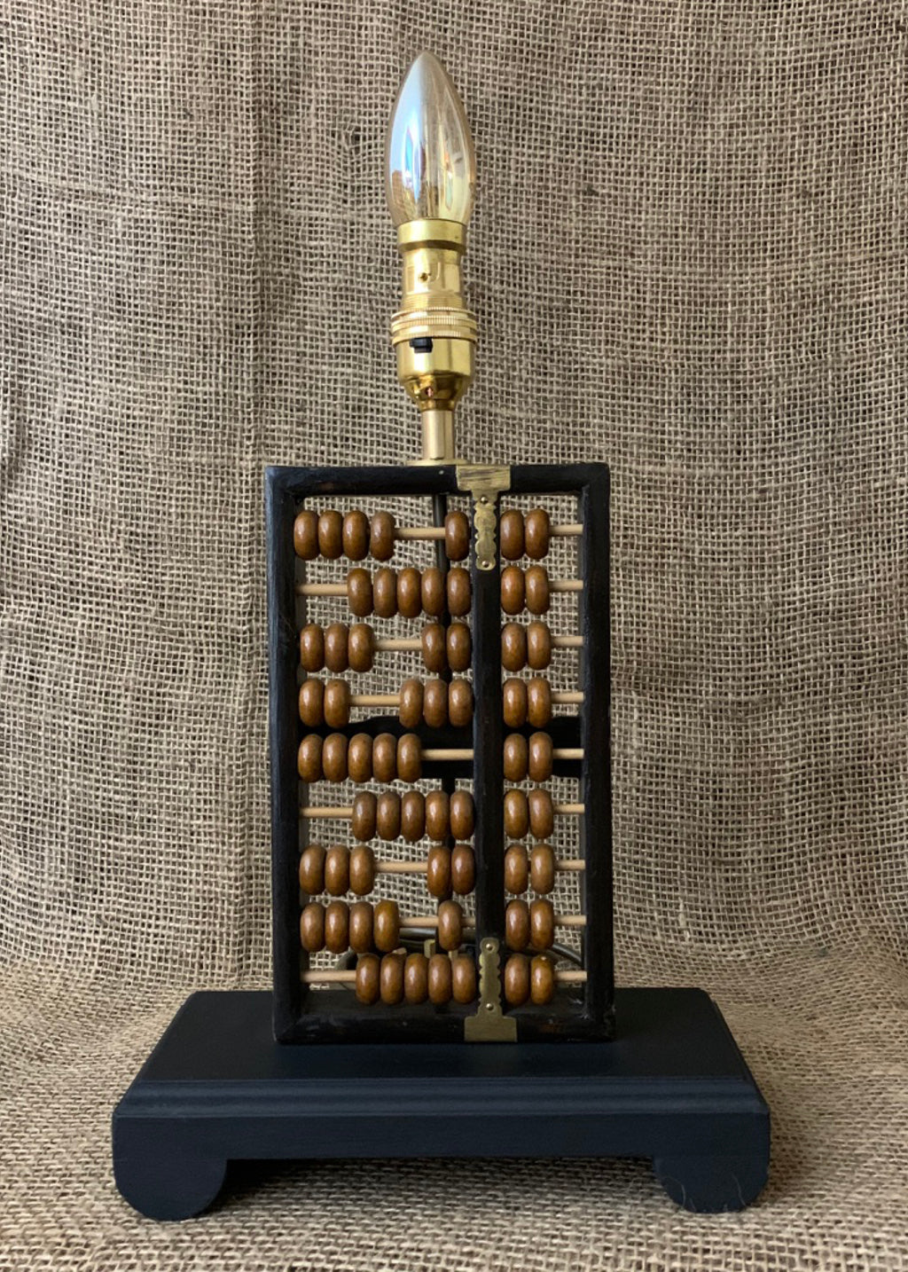 Chinese Abacus Table Lamp
