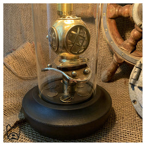 Mini Divers Helmet Table Lamp