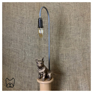 French Bulldog Table Lamp Caramel