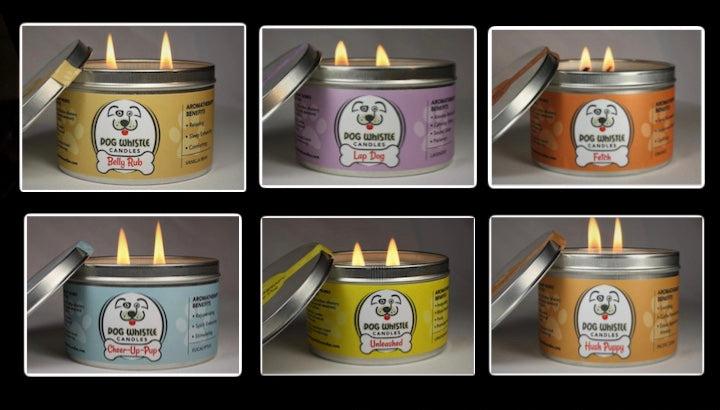 Dog Whistle Candles 6-Pack
