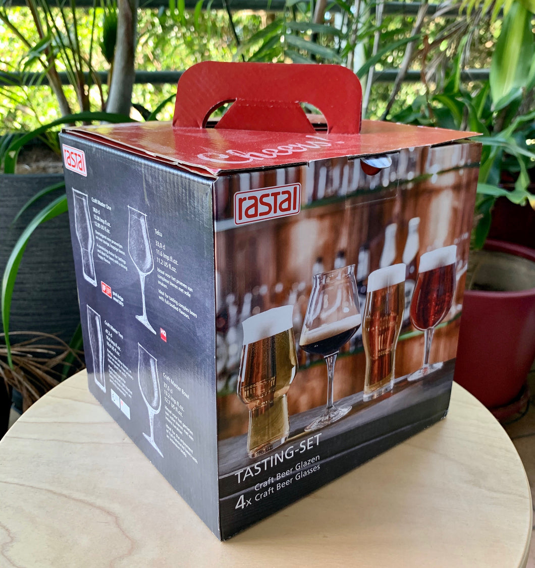 Rastal 4 Pack Tasting Set