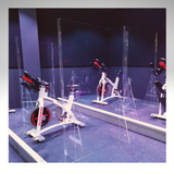 Gym Acrylic Barriers/Dividers