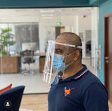 High quality Face Shields designed by our New York team in collaboration with New York doctors for your safety against corona droplets. Our Face Shield is made of clear acrylic (not cheap plastics) and definitely reusable and washable!   Proudly made in UAE!