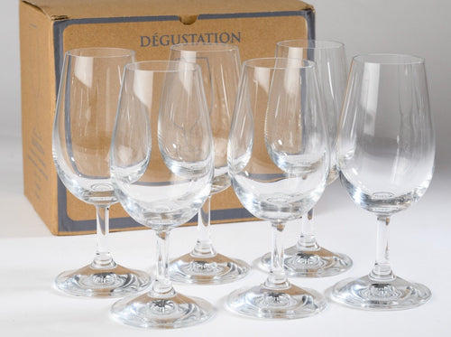 Set of 6 ISO Tasting Glasses Accessories The Online Wine Tasting Club