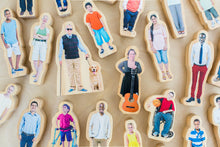 Load image into Gallery viewer, Everyone's Family- Wooden People