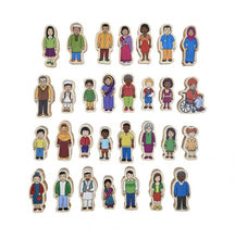 Load image into Gallery viewer, My Family- Wooden People Set