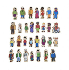 My Family- Wooden People Set